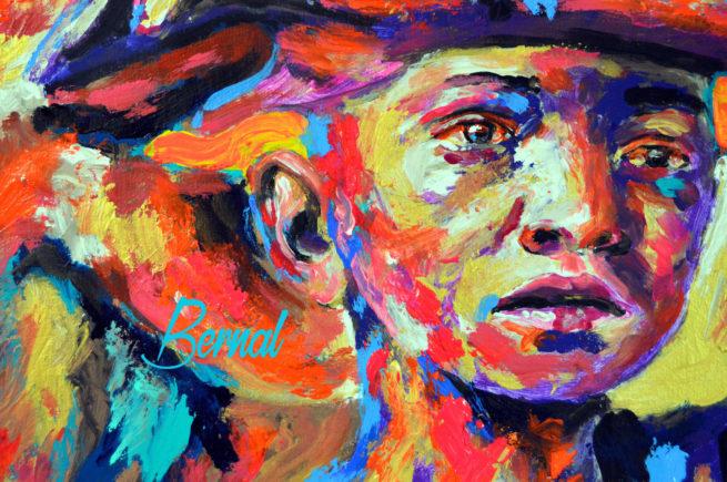 Bernal spanish contemporary artist