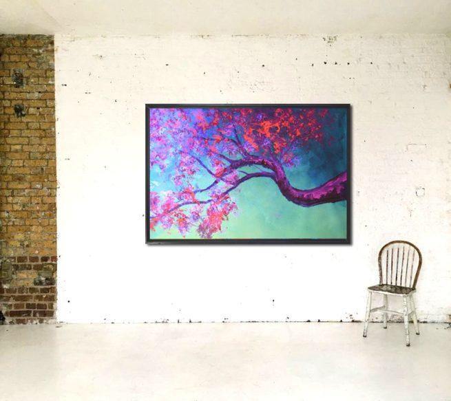 Javier Bernal fluor art cerezo japones