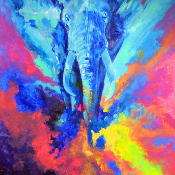 Bernal fluor art Elefante