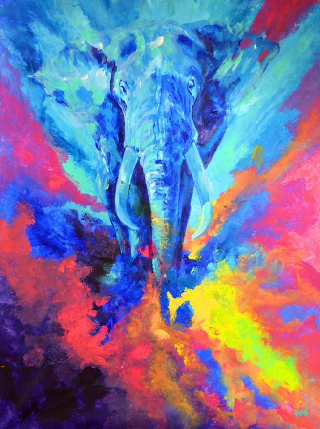 Bernal fluor art Elefante