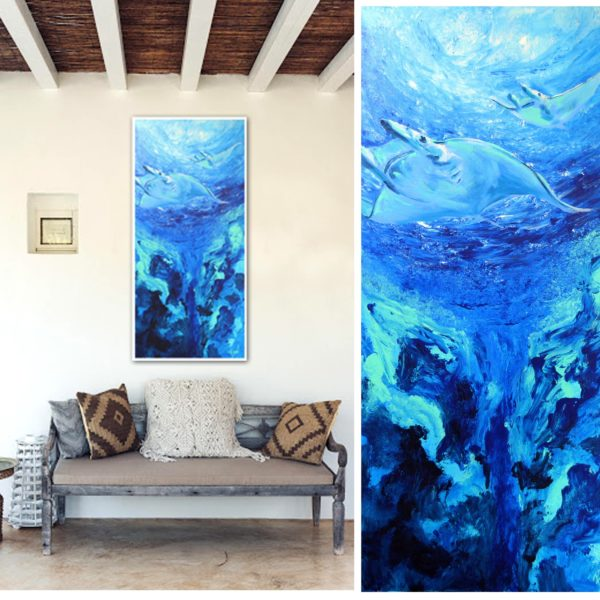 Bernal fluor art Serie Ocean