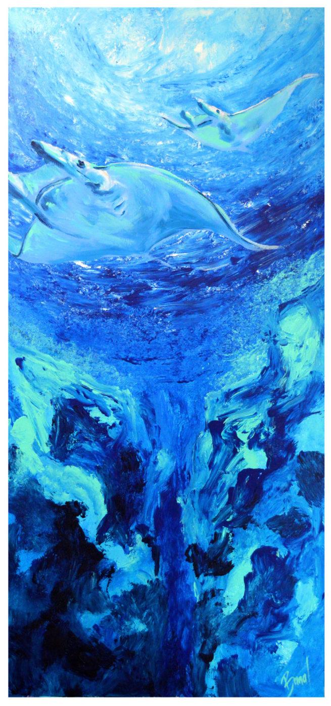 Serie Ocean de javier Bernal fluor art