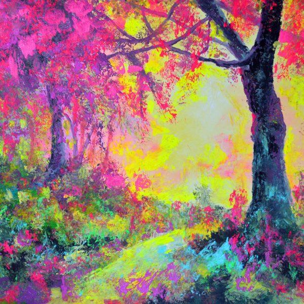 Paisaje otoño fluor de javier Bernal