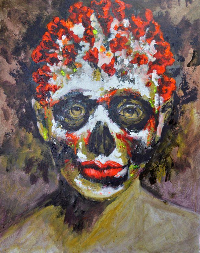 Bernal flúor art Covid19