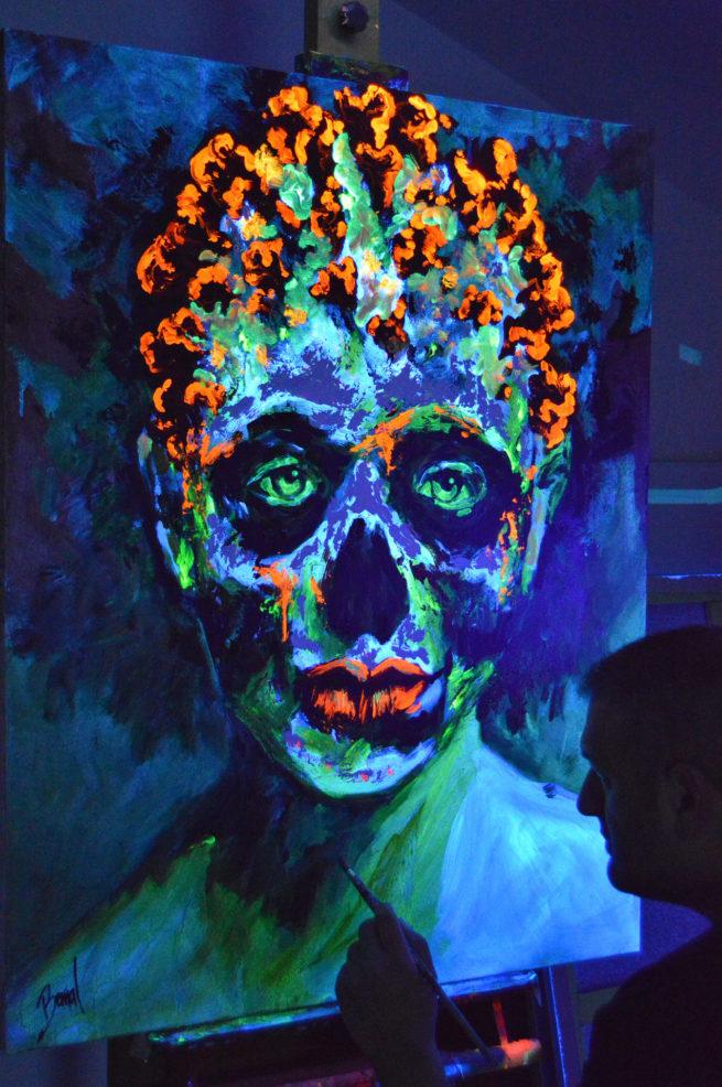 Bernal fluor art Covid19