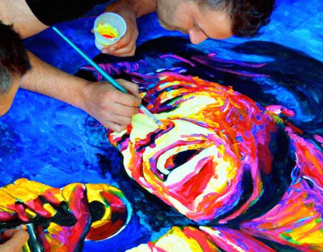 Javier Bernal retrato contemporáneo